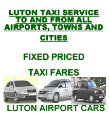 luton airport to london fixed taxi prices