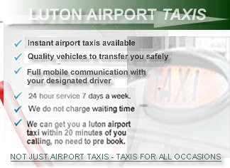 taxi from luton airport