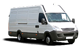 large van courier urgent parcel nextday van delivery low cost
